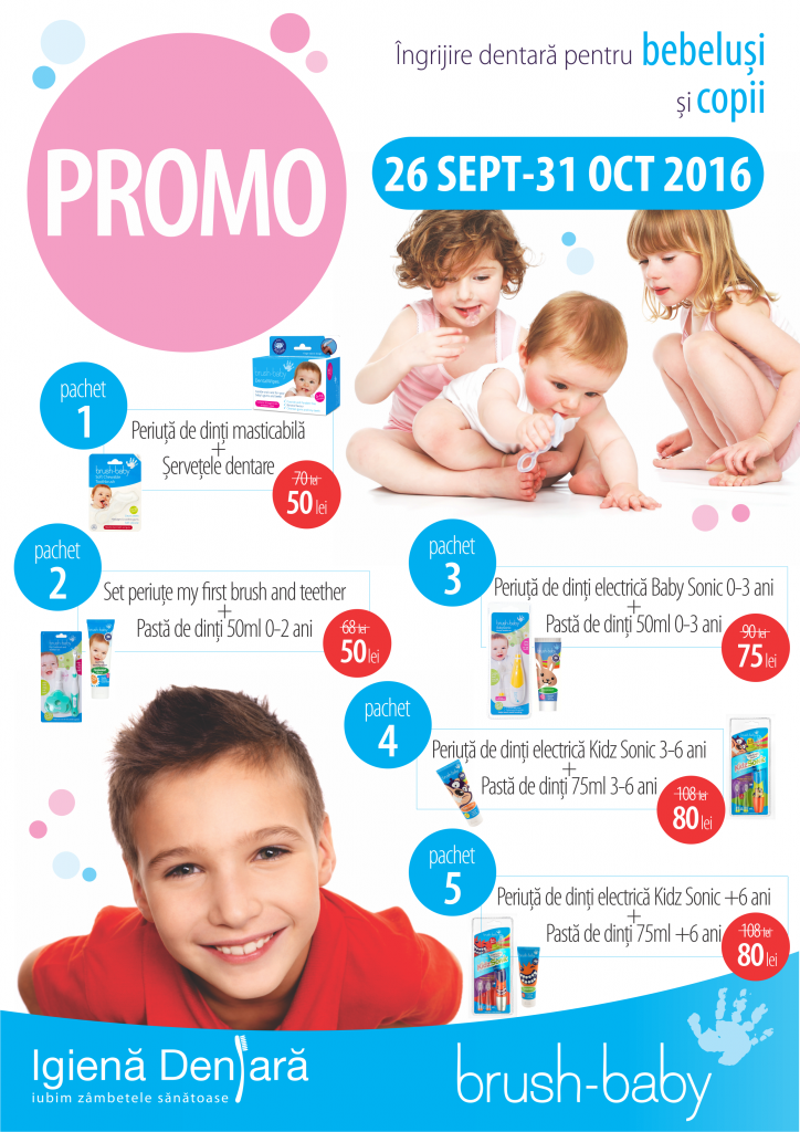 Promo BRUSH BABY Polus SEPT