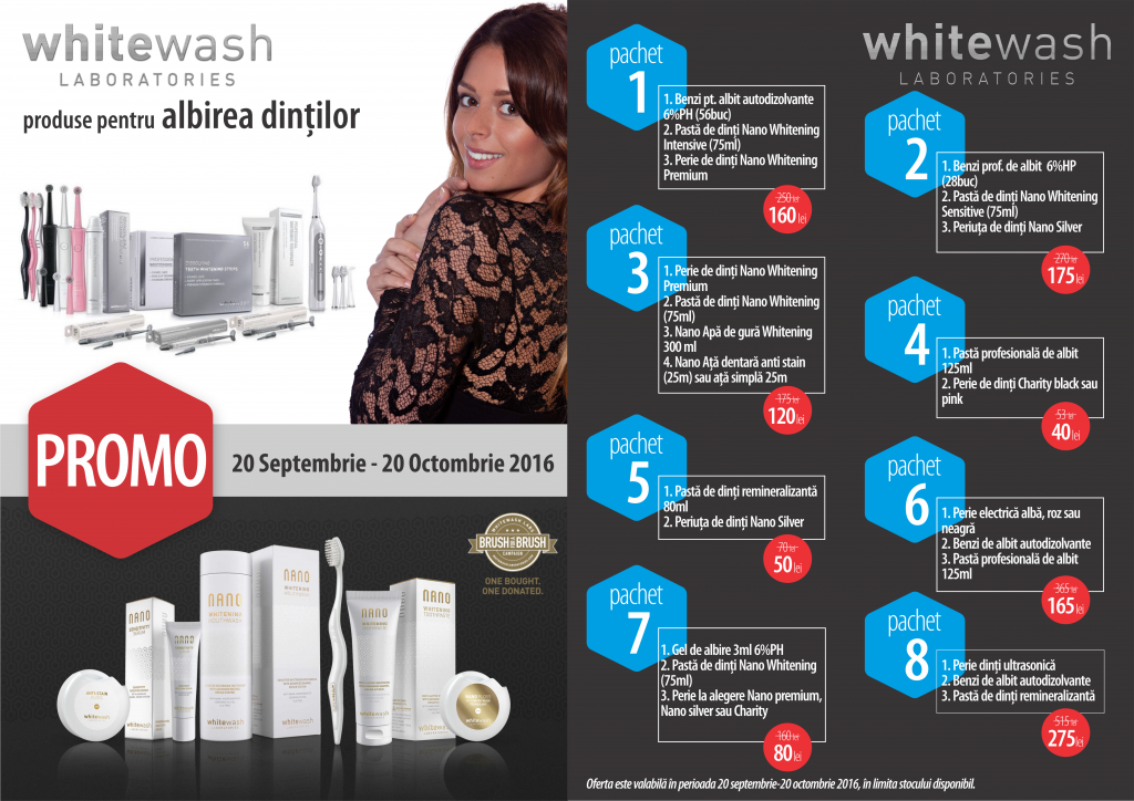 promo WhiteWash 20 sep-20oct